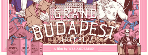 The Grand Budapest Hotel, film projeté le 19 septembre 2020 à Noetika