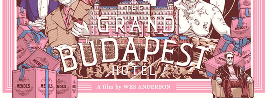The Grand Budapest Hotel, film projeté le 19 septembre 2020 à Noetika